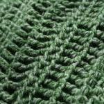 Neckwarmer or Cowl Green Cr..