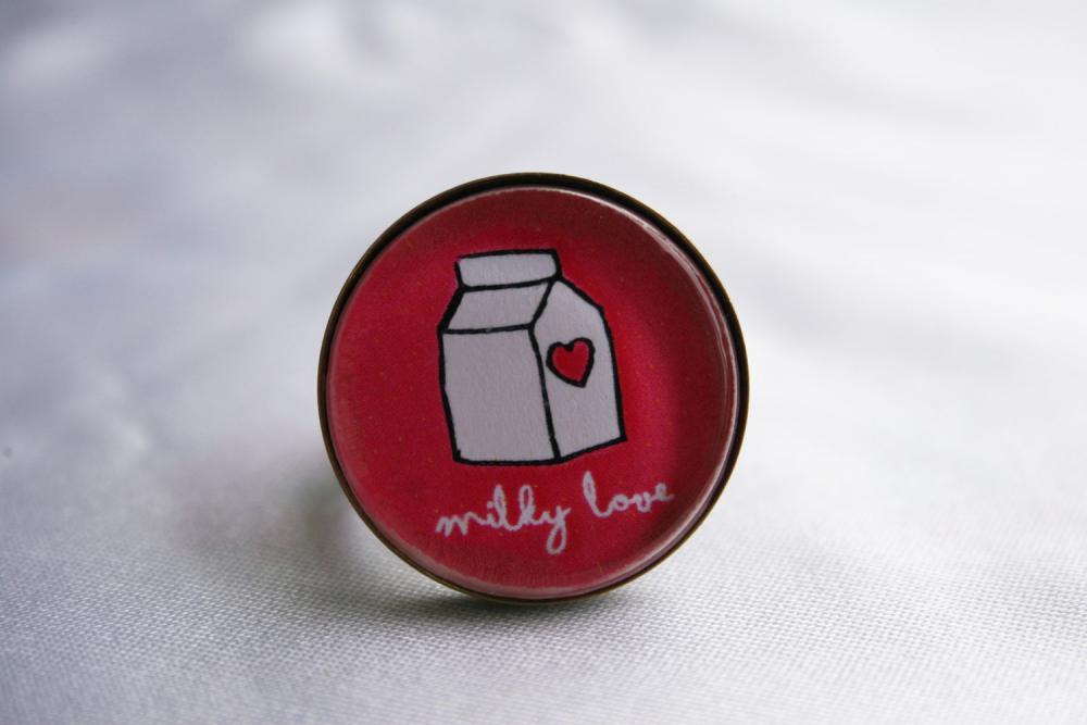 Ring Adjustable Milky Love