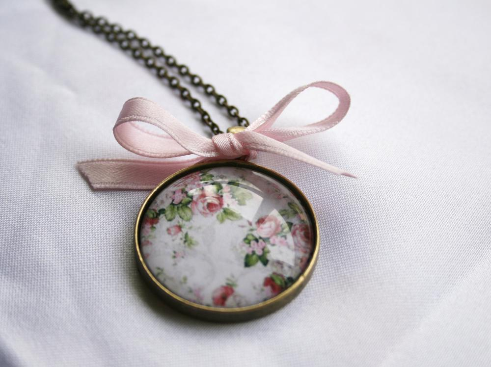 Pendant Vintage Rose